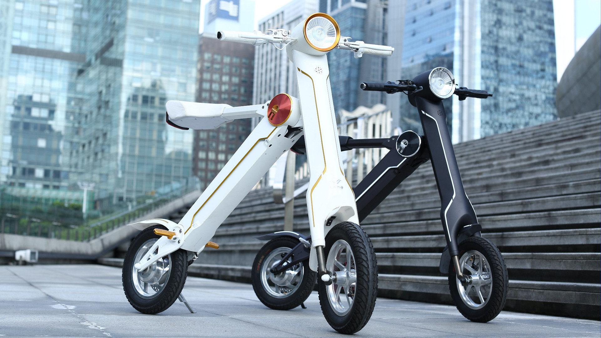 Elektryczne skutery miejskie Tric