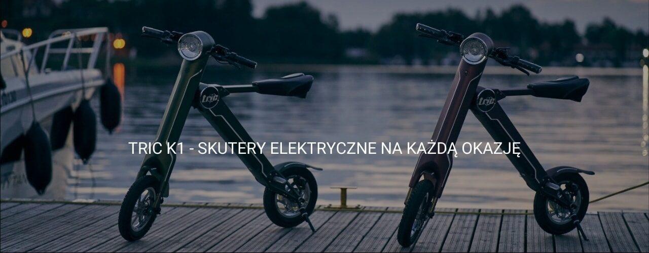 Skutery elektryczne