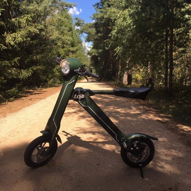 Eko skuter elektryczny idealny do Caravaningu